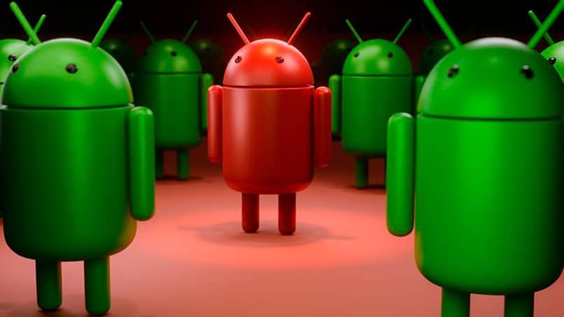 Ejércitos de robots en Android