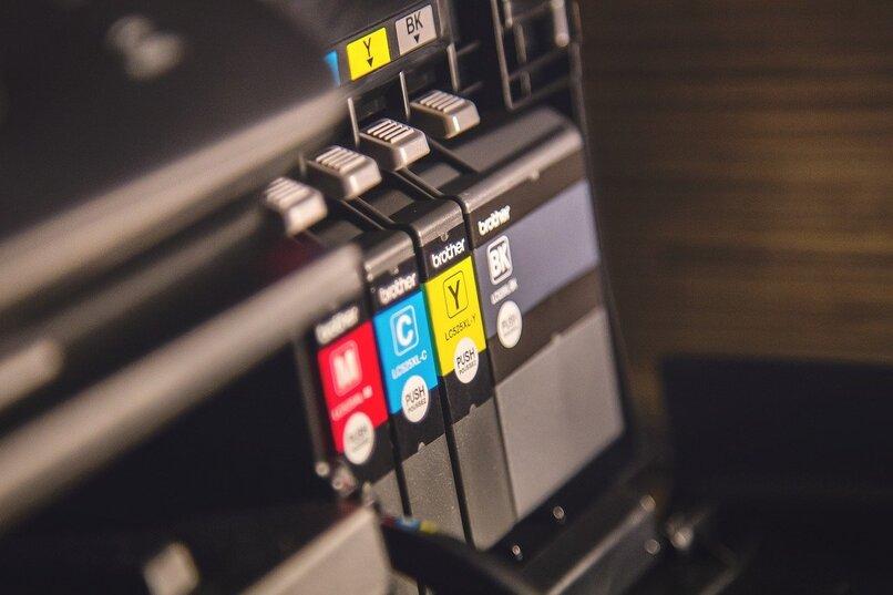 impresora con cartuchos