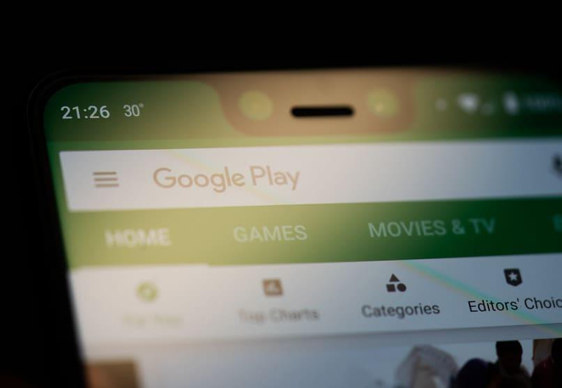 google play store en movil