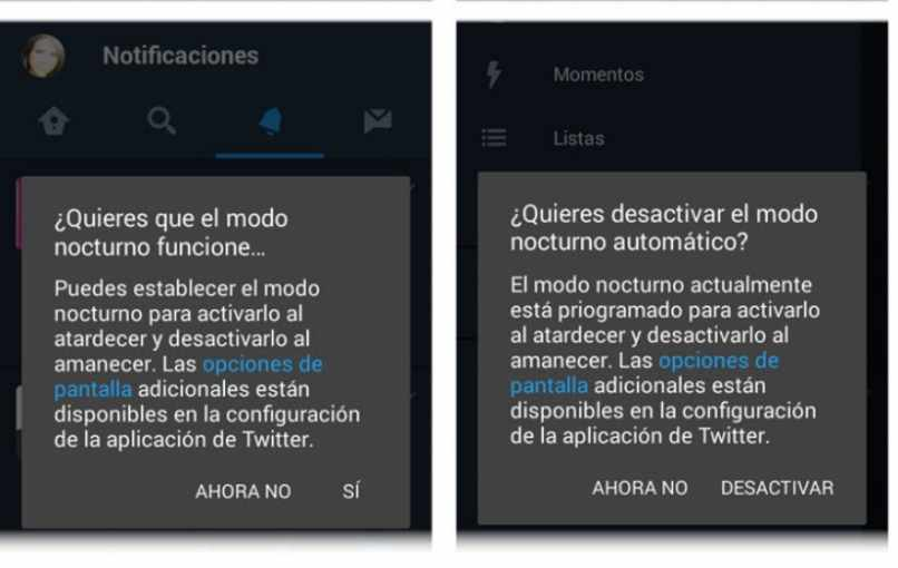 panel notificacion android twitter
