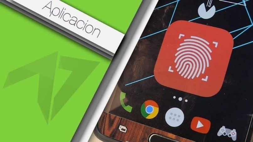 bloqueo huella digital aplicaciones android