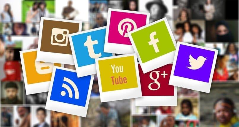 iconos de apps en forma de fotografias