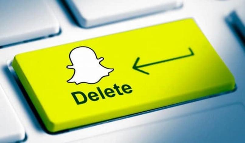 delete cuenta snapchat