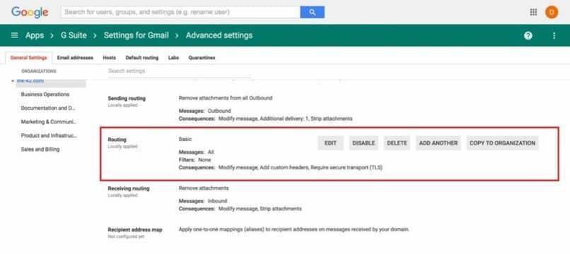 configurar perfiles en google