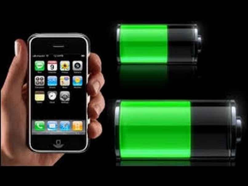 bateria media llena