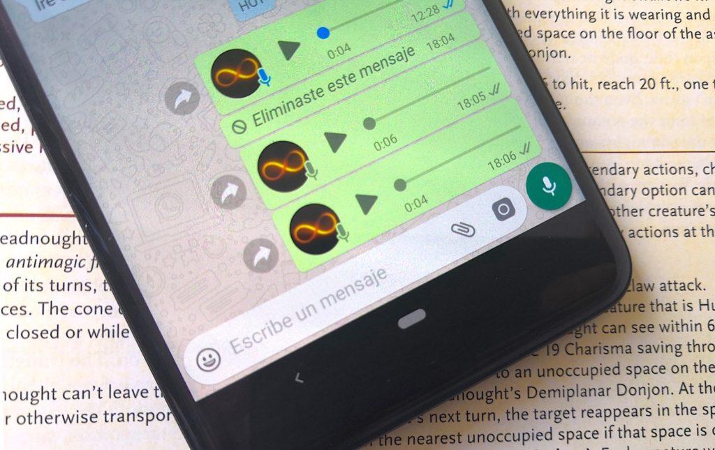 Cómo Grabar un Mensaje de Audio en WhatsApp sin Mantener Pulsado el Micrófono 1