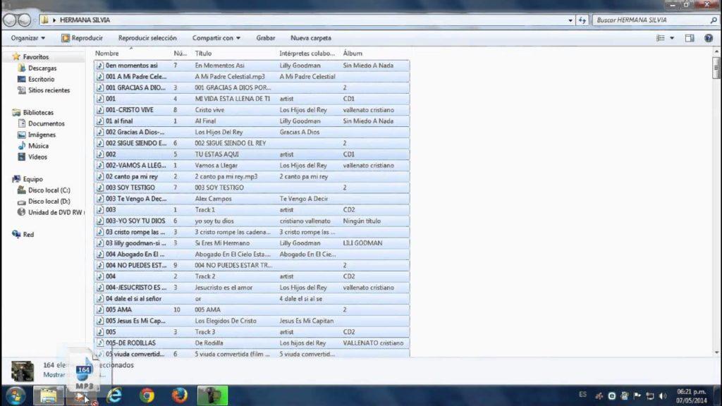 Cómo grabar y quemar en un CD o DVD música en MP3 en Windows