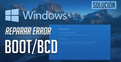 Cómo Reparar Inicio Boot Loader BCD si Windows 10 no Funciona 1