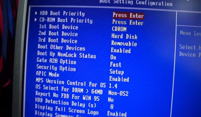 configurar windows 7 bios
