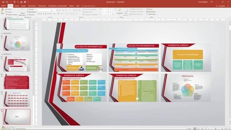 tutorial para crear indice numerado en powerpoint