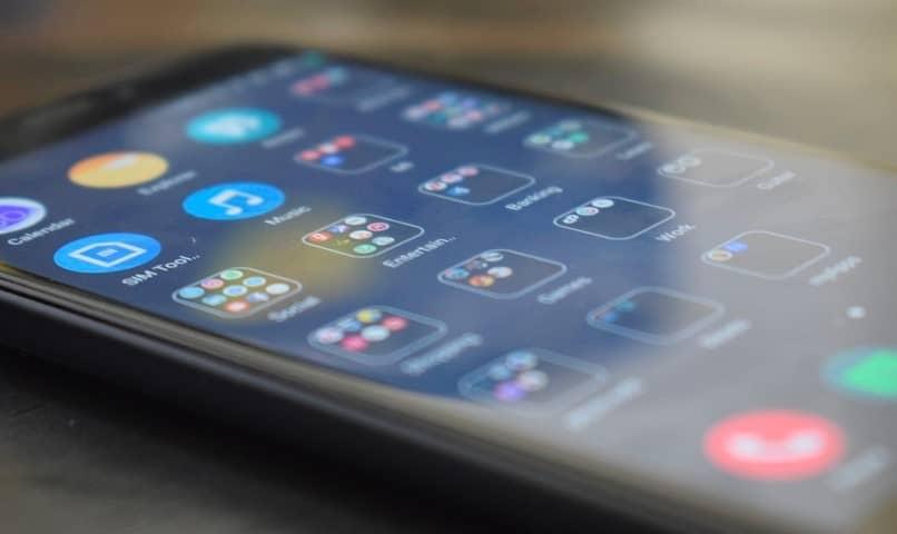 movil encendido aplicaciones moviles