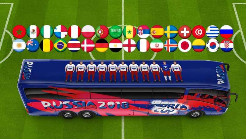 cancha futbol camion