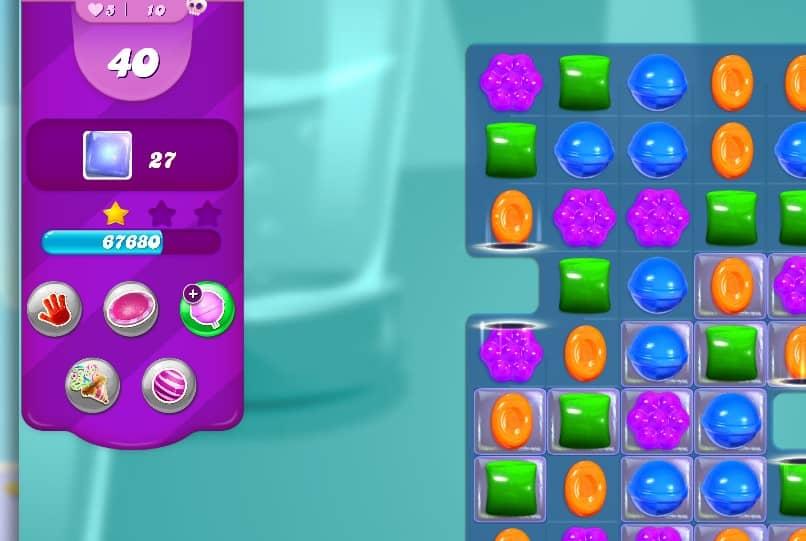 como utilizar recursos del juego para ganar candy crush