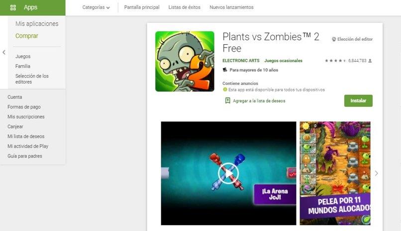 jugar plantavs zombies android