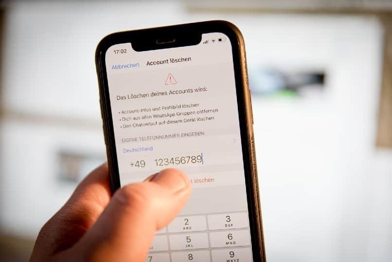 smartphone con whatsapp