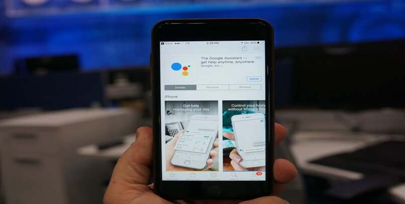 configurar ok google ios android
