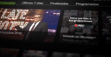 Programar grabación en la SmartTV con la guía