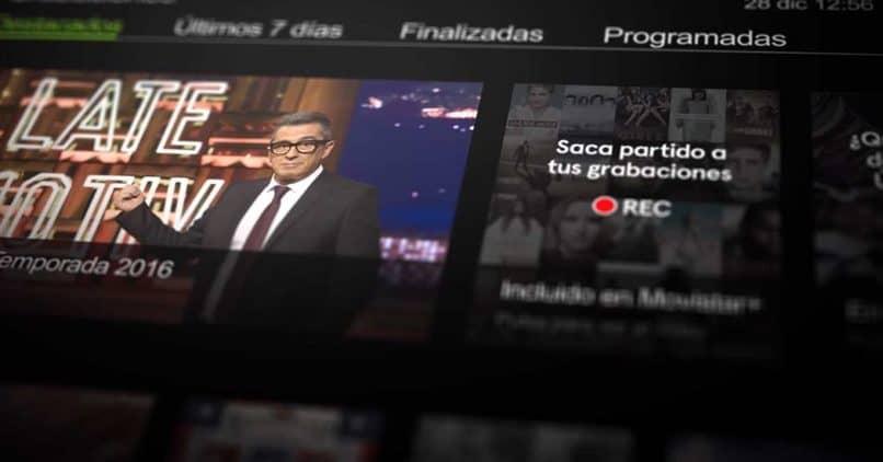 grabar programa en smart tv