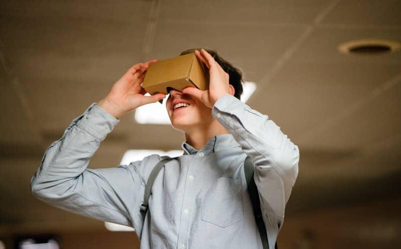 hacer realidad virtual
