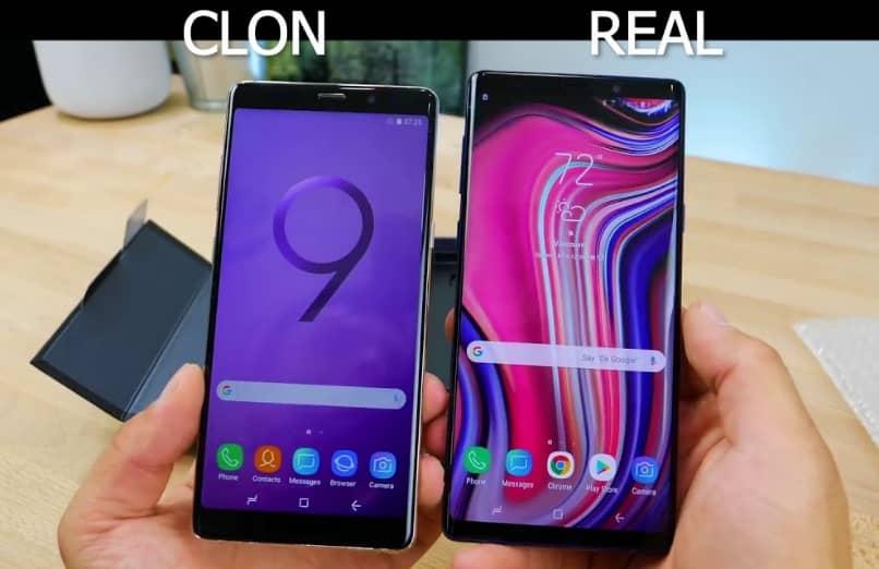 diferencias pantalla celular original replica
