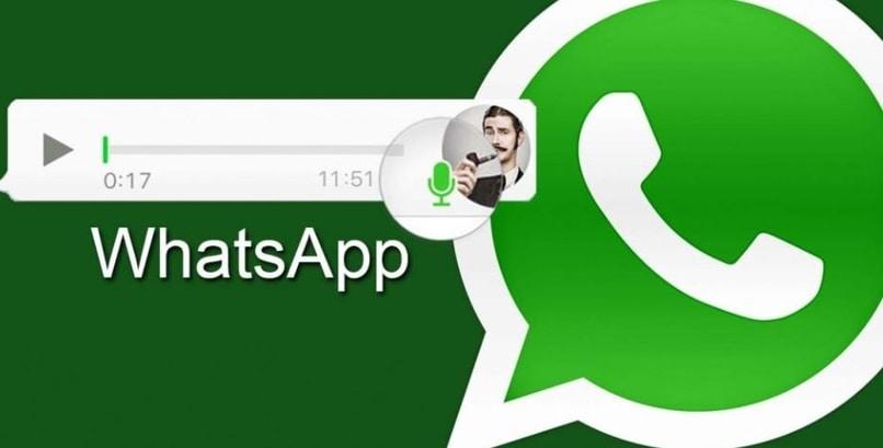 logo whatsapp reproduciendo nota de voz