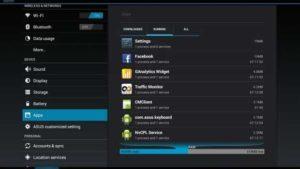interfaz del sistema operativo android