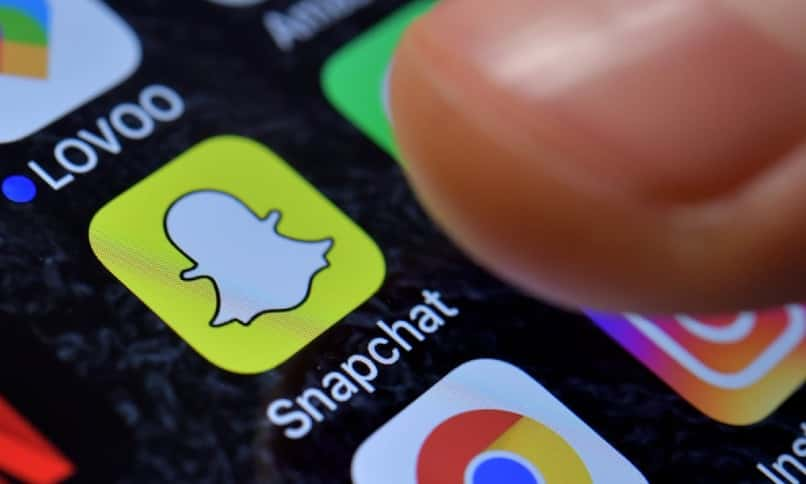 aplicacion snapchat iphone