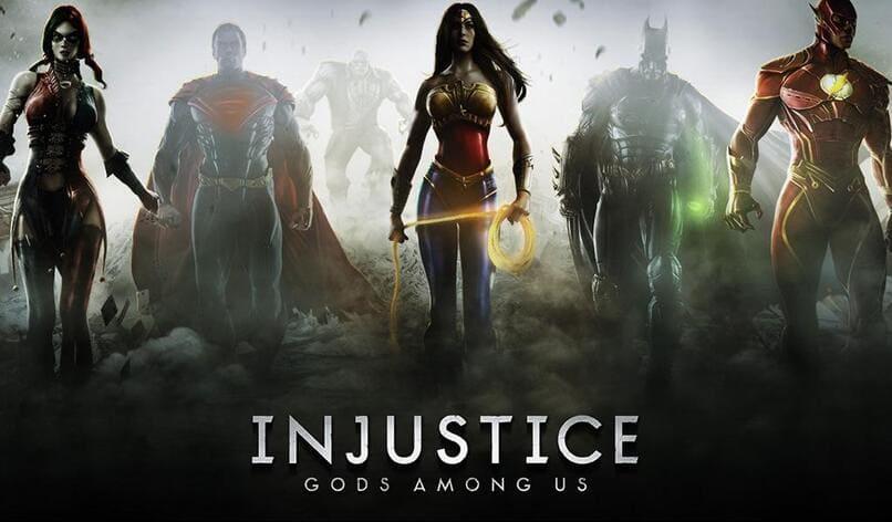 personajes del videojuego injustice gods among us