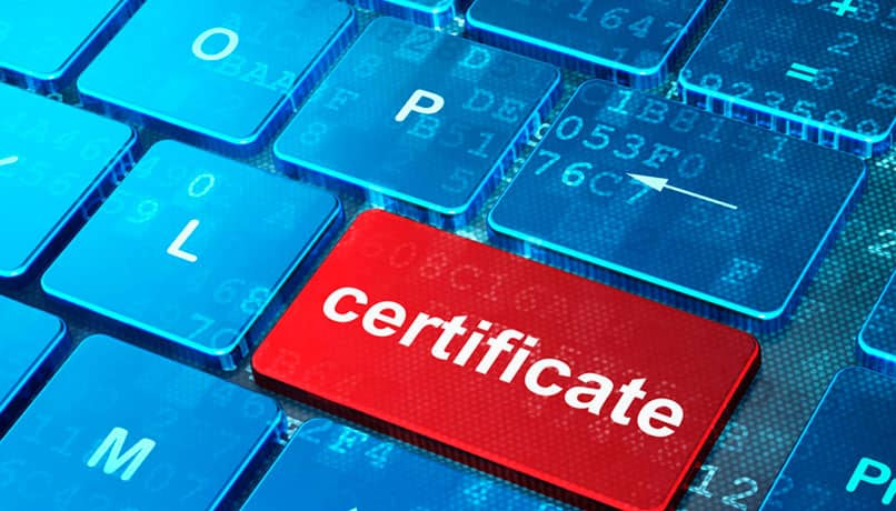 crear copia de un certificado digital usando google chrome