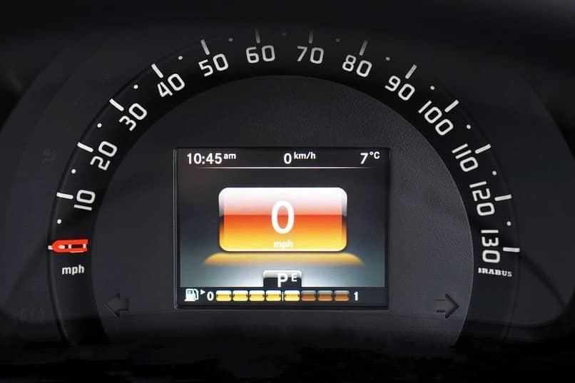 velocimetro a baja velocidad