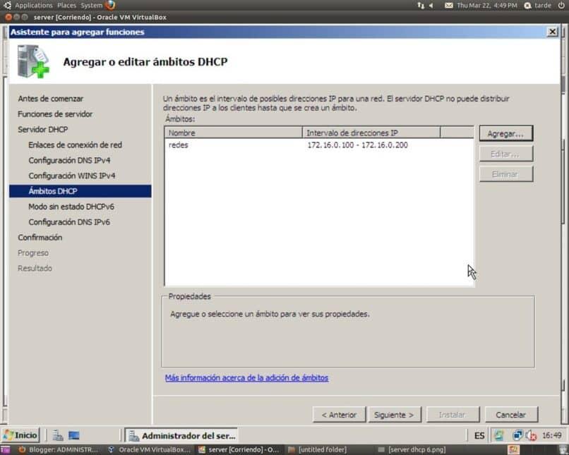 como crear un servidor dhcp