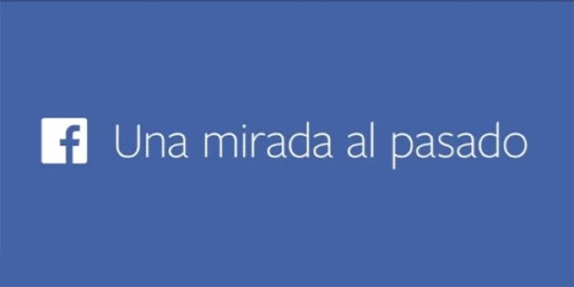 mensaje de facebook azul
