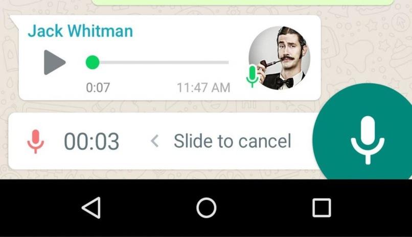whatsapp grabar converzaciones sin boton