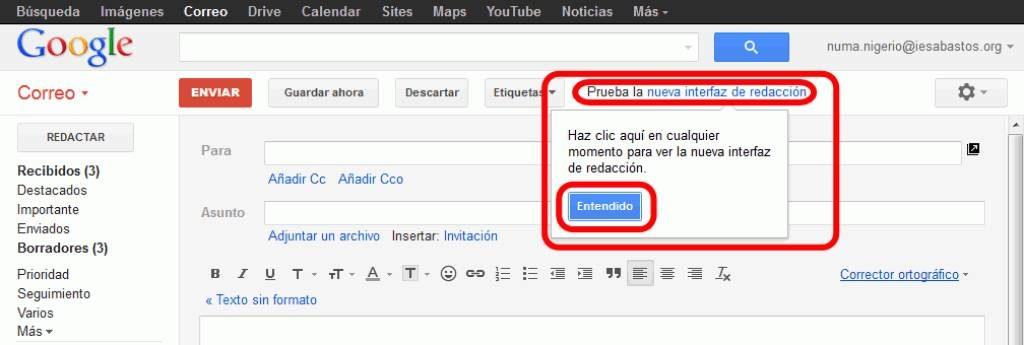 Cómo Activar El Corrector De Ortografía En Gmail Mira Cómo