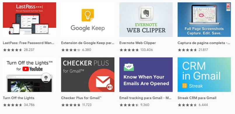 crea las ultimas extensiones de google chrome