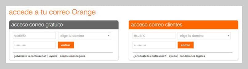 acceder a la cuenta orange