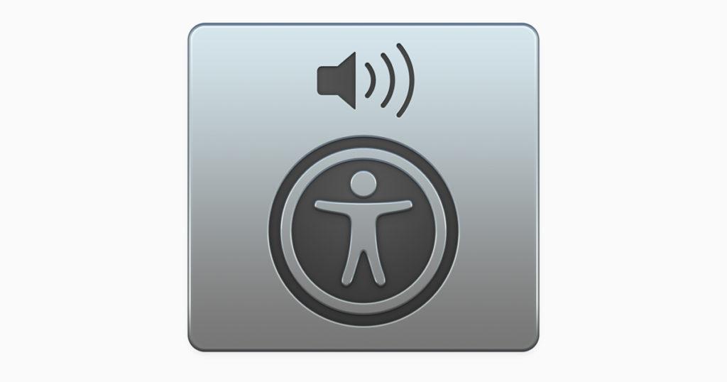 Apagar VoiceOver en Mac