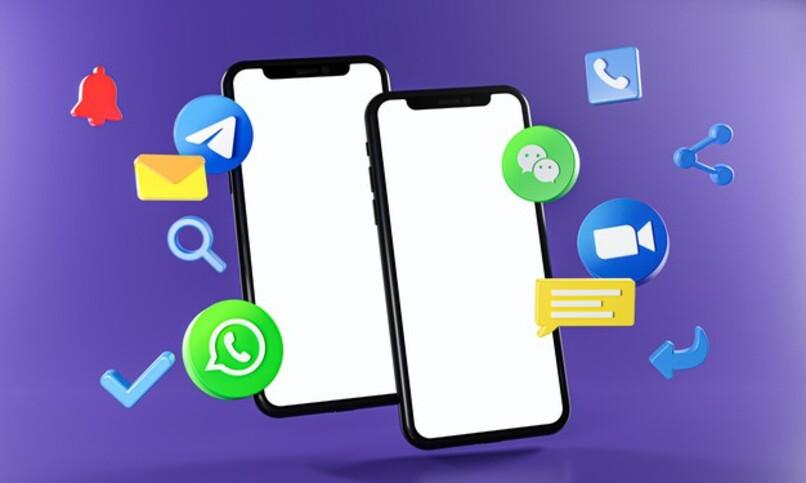 apps populares de mensajeria para movil como telegram y whatspp entre otras