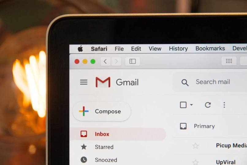 solucion al error de gmail
