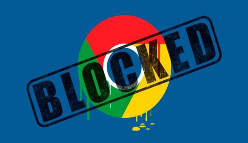 opcione bloqueo paginas chrome