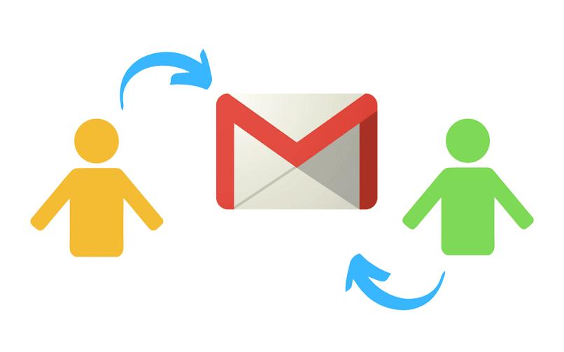 personas gmail flechas