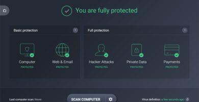 Cómo Agregar un Programa a la Lista de Excepciones del Antivirus AVG