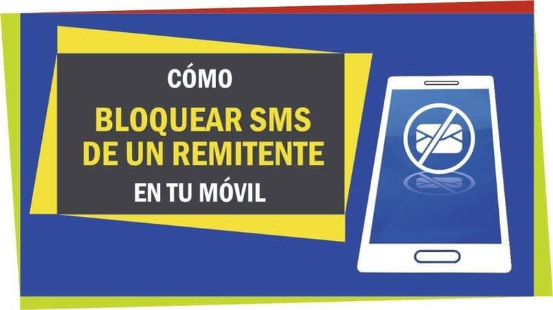 mensajes sms bloqueados desde el movil