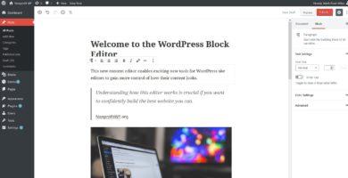 Cómo Editar Imágenes en un Blog de Wordpress Fácil y Rápido