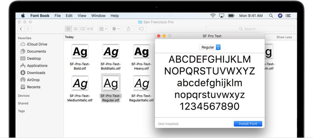 Cómo Instalar y Eliminar Tipos de Letra en Ordenadores Mac