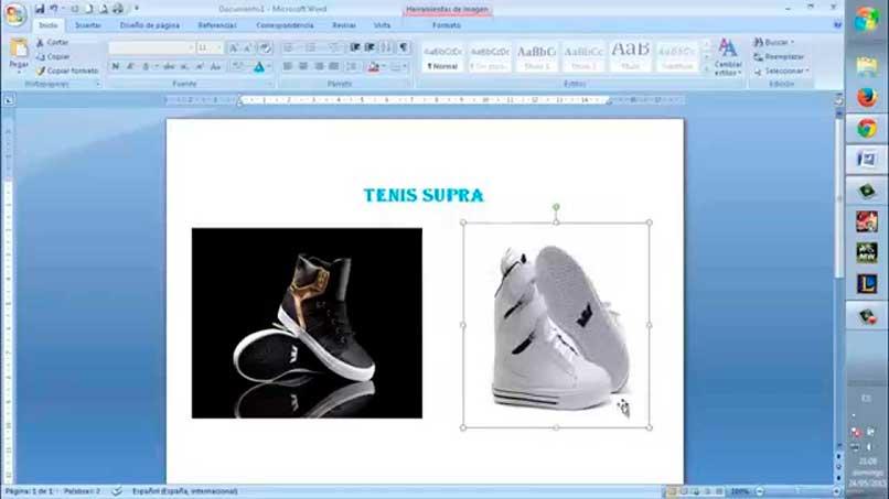 Copiar imágenes desde internet en Word