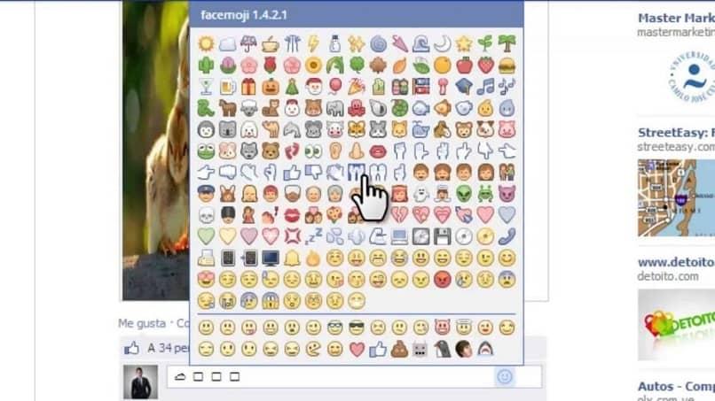 poner emoticones a facebook