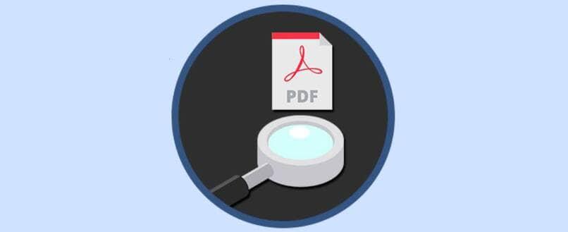 Maneras de buscar palabras en un PDF escaneando