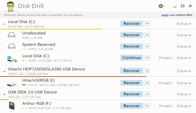app recupera datos borrados windows