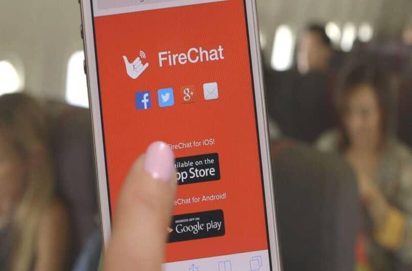 como funciona firechat en android